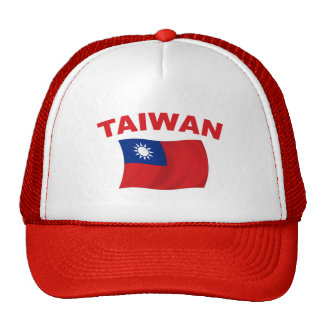Bandera 3 de Taiwán Gorra