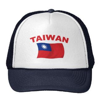 Bandera 3 de Taiwán Gorras