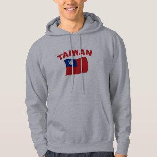 Bandera 3 de Taiwán Jersey Encapuchado