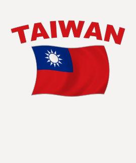 Bandera 3 de Taiwán Playera