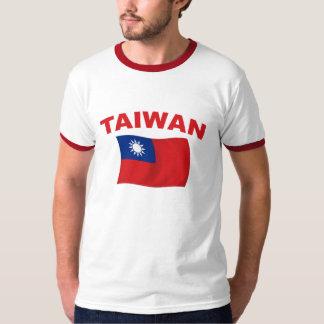 Bandera 3 de Taiwán Playeras