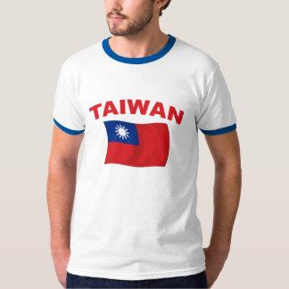 Bandera 3 de Taiwán Poleras