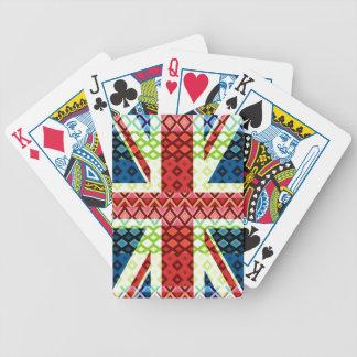 Bandera #3 - naipes de Gran Bretaña