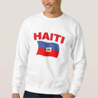 Bandera 4 de Haití Pulovers Sudaderas