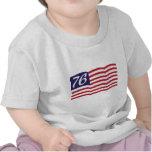 Bandera 76 camisetas