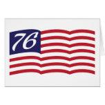 Bandera 76 felicitación