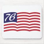 Bandera 76 tapetes de ratones