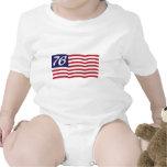 Bandera 76 trajes de bebé