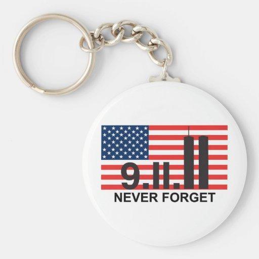 bandera 911 llaveros personalizados