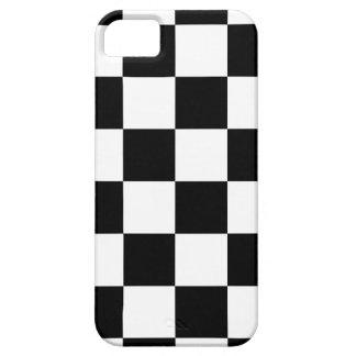 Bandera a cuadros a cuadros el competir con auto iPhone 5 fundas
