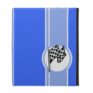 Bandera a cuadros; Azul