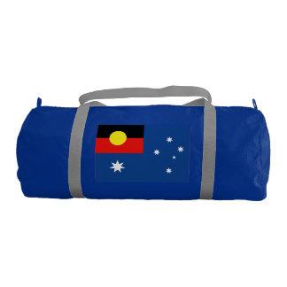 Bandera aborigen de Australia Bolsa De Deporte