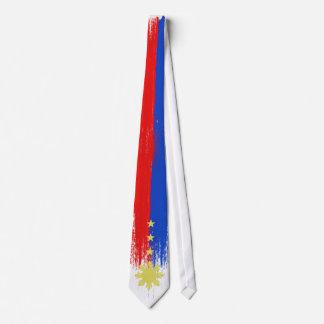 Bandera abstracta del lazo de Filipinas Corbatas