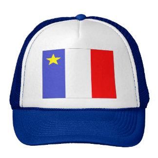 Bandera acadiense gorras de camionero