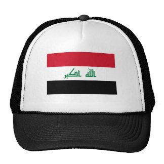 Bandera actual de Iraq Gorras De Camionero