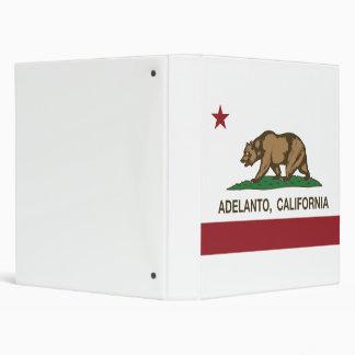 Bandera Adelanto del estado de California