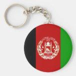Bandera AF de Afganistán Llaveros