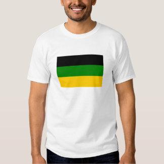 Bandera africana del congreso nacional camisas