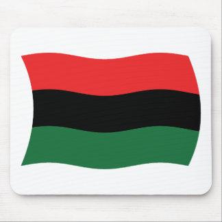 Bandera africana Mousepad de la cacerola (UNIA)