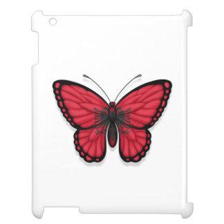 Bandera albanesa de la mariposa