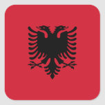 Bandera albanesa etiquetas