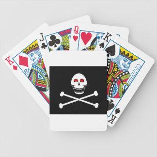 Bandera alegre de Fanged Rogelio Baraja Cartas De Poker