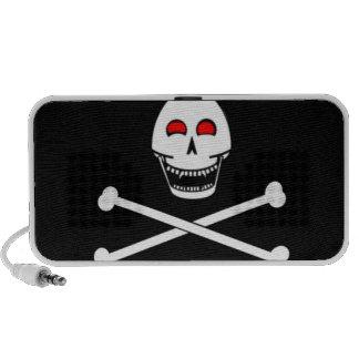 Bandera alegre de Fanged Rogelio iPod Altavoces