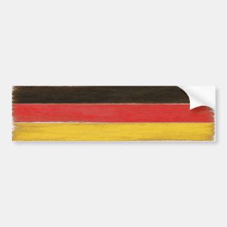 Bandera alemana apenada fresca de la pegatina para pegatina para auto