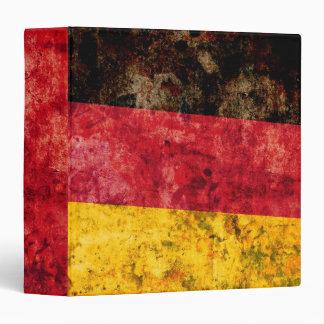 "Bandera alemana carpeta 1 1/2"""