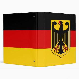 """Bandera alemana con el escudo carpeta 1"""""""