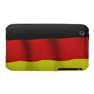 Bandera alemana de la caja patriótica del teléfono funda bareyly there para iPhone 3 de Case-Mate