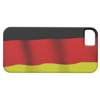 Bandera alemana de la caja patriótica del teléfono funda para iPhone SE/5/5s
