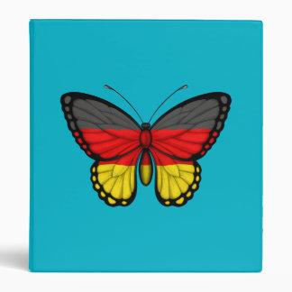 Bandera alemana de la mariposa