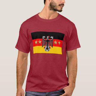Bandera alemana del fútbol Fussball 2014 de Playera