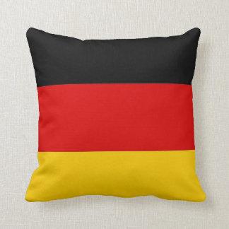 Bandera alemana en la almohada de MoJo del america
