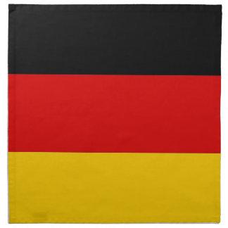 Bandera alemana en la servilleta de MoJo