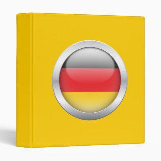 """Bandera alemana en orbe carpeta 1"""""""