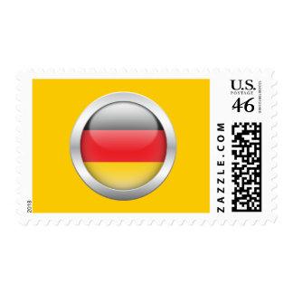 Bandera alemana en orbe envio