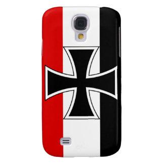 Bandera alemana imperial funda para galaxy s4