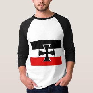 Bandera alemana imperial remera