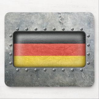 Bandera alemana industrial tapete de ratones