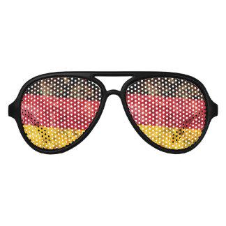 Bandera alemana lentes de sol