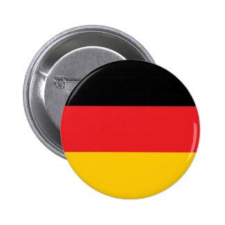 Bandera alemana pin redondo de 2 pulgadas