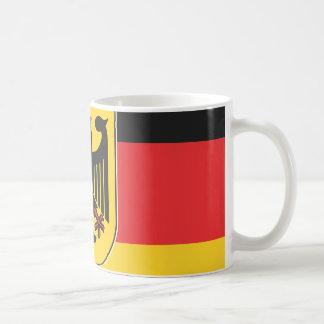 Bandera alemana taza clásica