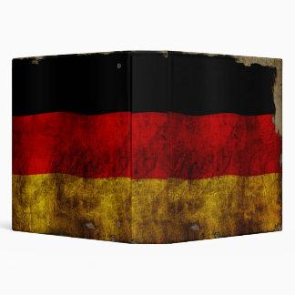 """Bandera alemana - vintage carpeta 1 1/2"""""""