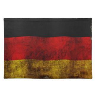 Bandera alemana - vintage manteles individuales