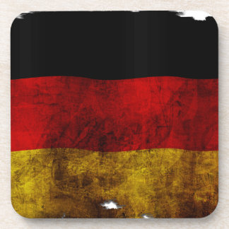 Bandera alemana - vintage posavasos