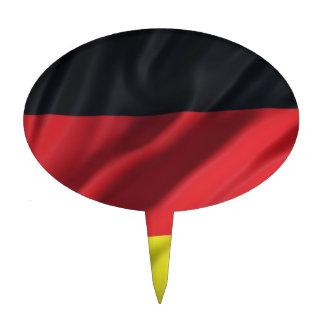 bandera-Alemania Palillos De Tarta