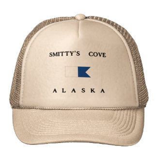 Bandera alfa de la zambullida de Alaska de la ense Gorras