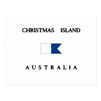Bandera alfa de la zambullida de Australia de la Postales